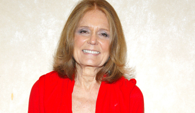 Gloria Steinem at Nourse Theatre