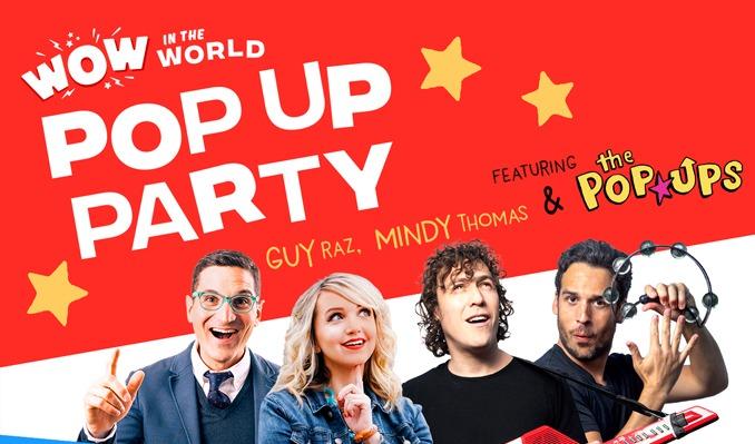 Guy Raz, Mindy Thomas & The Pop Ups at Nourse Theatre