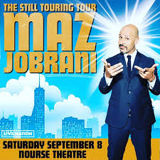 Maz Jobrani at Nourse Theatre