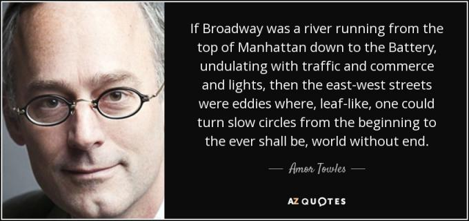 Amor Towles at Nourse Theatre