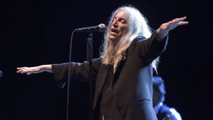 Patti Smith at Nourse Theatre